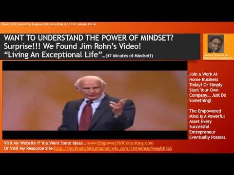 Jim Rohn: TEACHING ENTREPRENEURS THE POWER & VALUE OF MINDSET