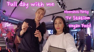 Vlog#2 My Life in Seoul | Tv Station Moonshot Party
