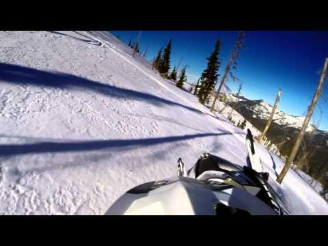 GoPro Hero3+  Snowmobiling (Avery, Freezeout Saddle Idaho)