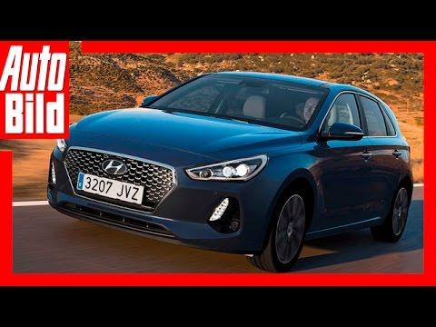 AUTO BILD Fahrbericht: Hyundai i30 / 2017 / Der Golf-Gegner / Review / Test
