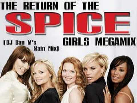 The Return Of The Spice Girls Megamix (DJ Dan M's Main Mix)