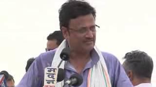 Public leader Rajendra Rathore Ji speech at Sujangarh Aamsabha on dated 11th June, 2013