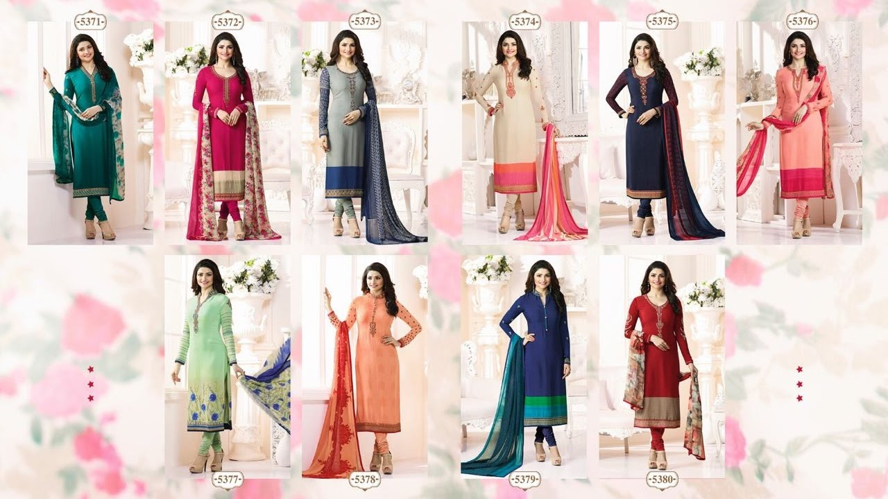 Download latest indian dresses collections 2017 | vinay fashion |SILKINA ROYAL CREPE VOL 9