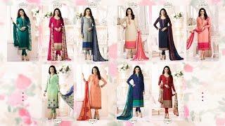 latest indian dresses collections 2017 | vinay fashion |SILKINA ROYAL CREPE VOL 9