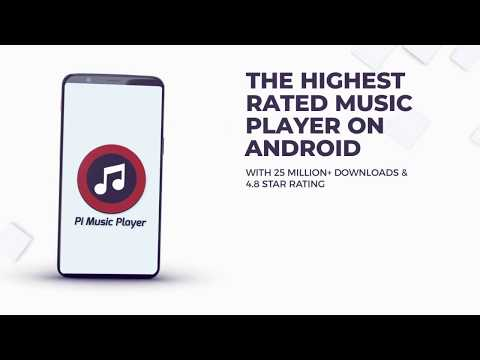 Pi Music Player | The Highest Rated Android Music Player | Over 30 Million downloads with 4.8 rating