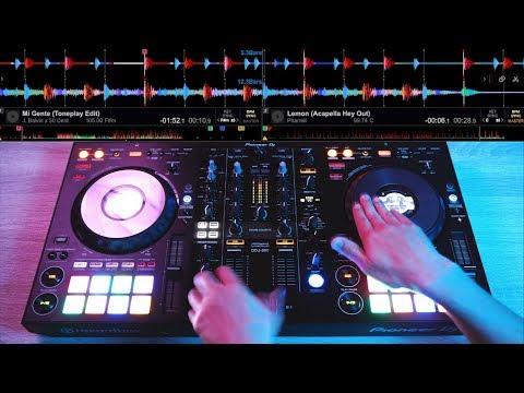 PRO DJ SHOWS OFF HIS SKILLS ON THE NEW DDJ-800 - Fast and Creative DJ Mixing Ideas