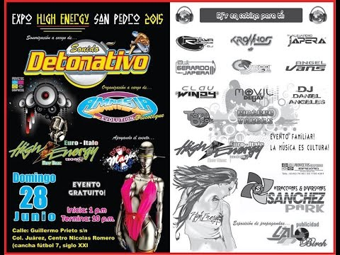 Expo High Energy en Nicolas Romero (28/Junio/2015)