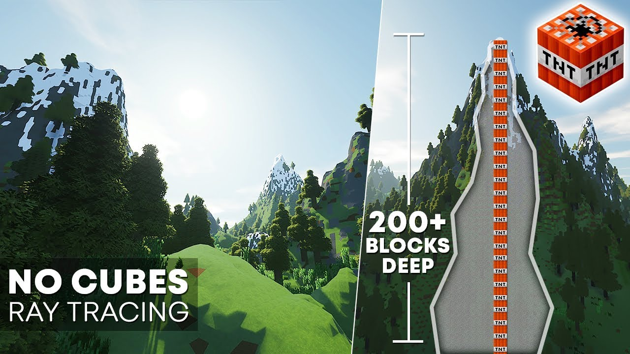 Roblox Ray Tracing Minecraft Pushing To The Limits Minecraft Ray Tracing No Cubes Tnt
