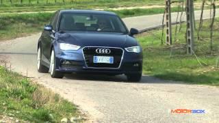 Audi A3 Sportback g-tron, la prova di MotorBox