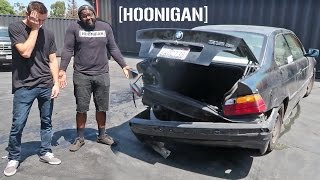 I WRECKED HOONIGAN'S E36...