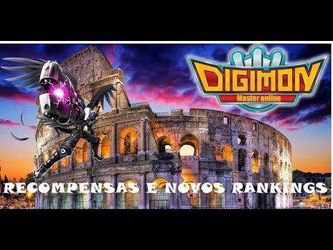 RECOMPENSAS DO COLISEU E RANKING MENSAL E TRIMESTRAL - DIGIMON MASTERS ONLINE
