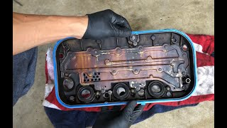 07 Acura TL Front Valve Cover Gasket Replacement