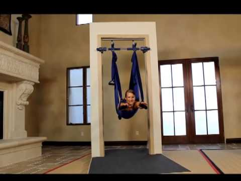Gorilla Gym Yoga Swing Youtube