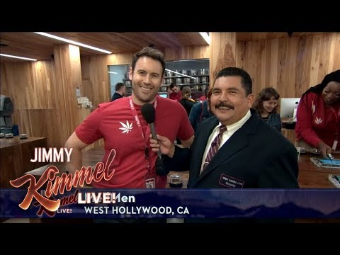 Guillermo Live at a Legal Pot Shop in West Hollywood