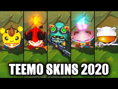 All Teemo Skins Spotlight 2020 (League of Legends)