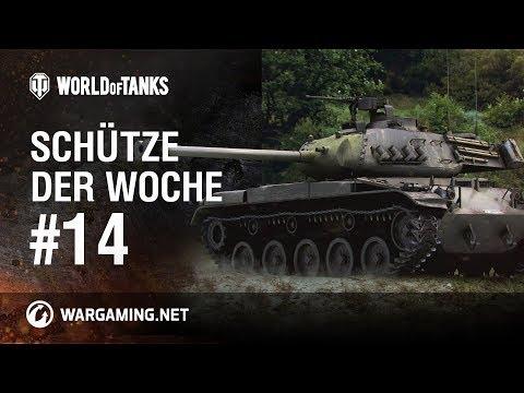Schütze der Woche #14 [World of Tanks Deutsch] thumbnail