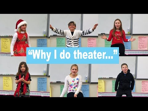 Why Kids Love Theater! - Northwest Christian Schools