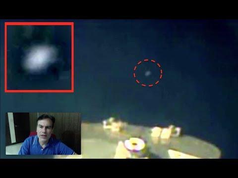 UFO Seen On Live NASA Space Station Cam, Sep 20, 2018, UFO Sighting News.
