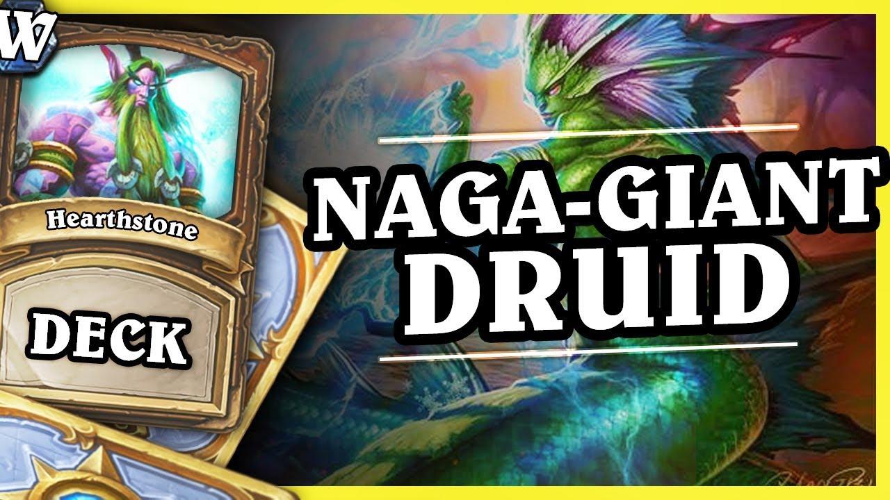 NAGA – GIANT DRUID – Hearthstone Deck Wild (KotFT)