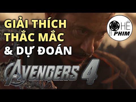 Infinity War - GIẢI THÍCH THẮC MẮC & DỰ ĐOÁN AVENGERS PHẦN 4