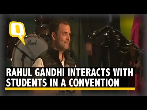 Live: Rahul Gandhi in Conversation With University Students in Delhi