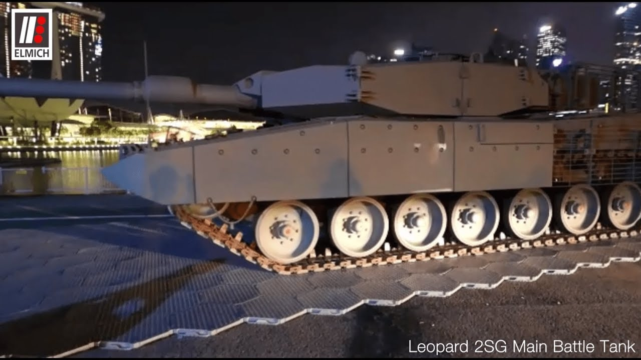 acfe310b1d3a TrackGard supports 62-ton German-built Leopard 2SG Tank - YouTube