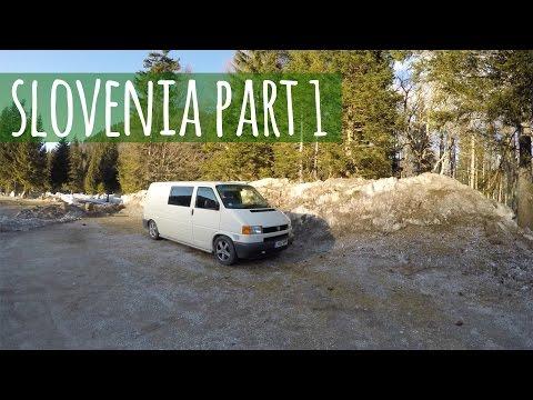 Van Life Vlog - Slovenian Gorges and Vanlife Entertainment