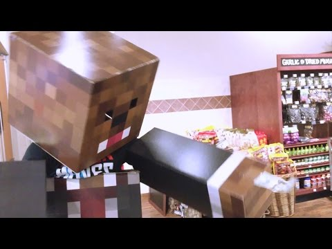 A Day In The Life Of Jerome (IRL Minecraft Skin)