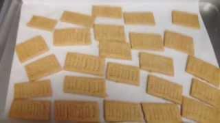 Crispy Delicious Gluten-free Honey Graham Crackers Recipe
