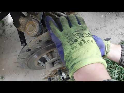 Замена передних тормозных колодок CF moto 500 basik,x5,x6,