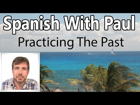 Is past tense spanish
