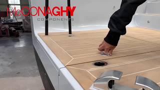 McConaghy Components - Carbon Fiber Retractable Dive Ladder
