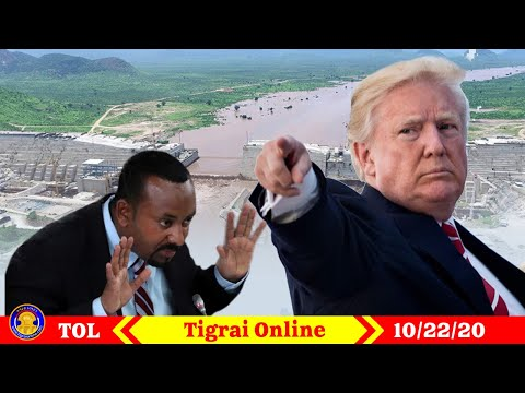 Tigrai Online Ethiopian news today  October 24-2020 | President Trump's speech about the GERD.