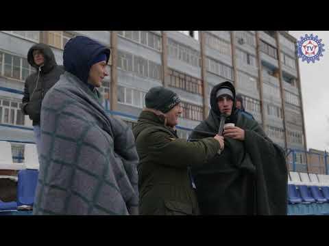 Атмосфера матча «Нефтехимик» 23 «КАМАЗ»