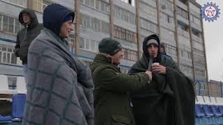 Атмосфера матча «Нефтехимик» 2:3 «КАМАЗ»