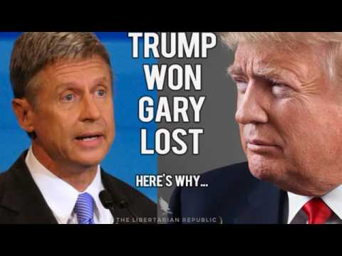Donald Trump Won, Gary Johnson Lost. Here's why...