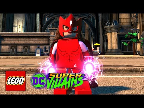LEGO DC Super-Villains - How To Make Scarlet Witch (Classic)