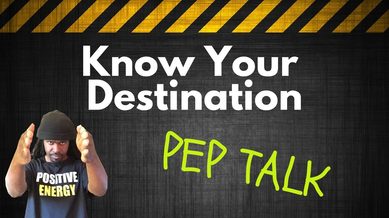 Pep talk know your destination youtube pep talk know your destination fandeluxe PDF