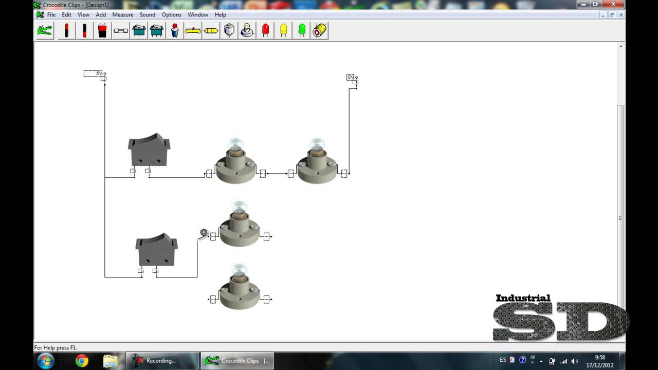 Circuito Mixto : Circuitos en paralelo serie y mixto crocodile clips v