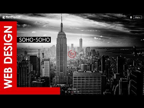 🚀 Web Design - Soho Soho