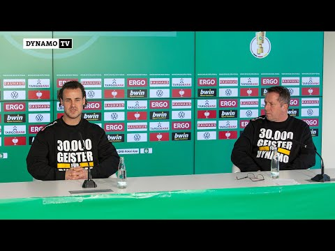 2. Runde DFB-Pokal   SGD - SVD   Pressekonferenz vor dem Spiel