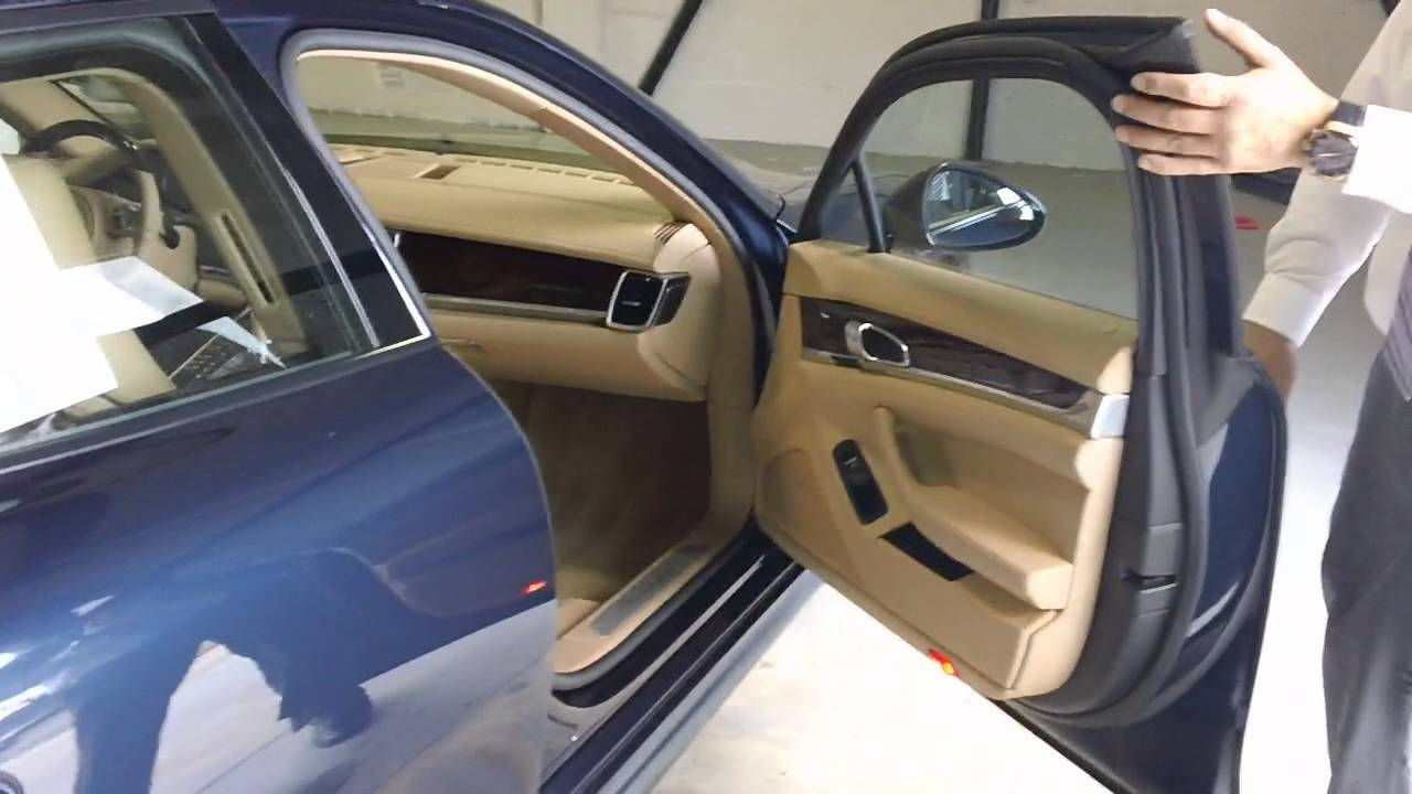 Certified Pre Owned >> 2011 Panamera 4 Dark Blue over Luxor Beige with Walnut ...