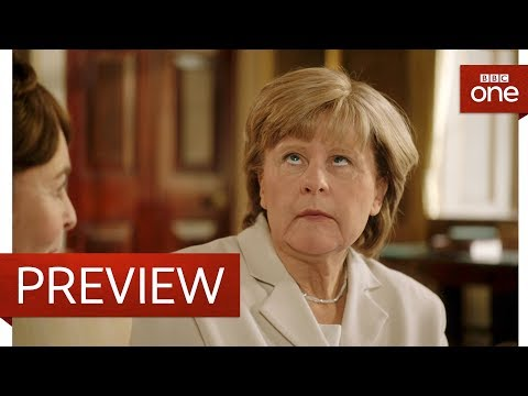 Angela Merkel's poker face problem - Tracey Breaks the News - BBC One