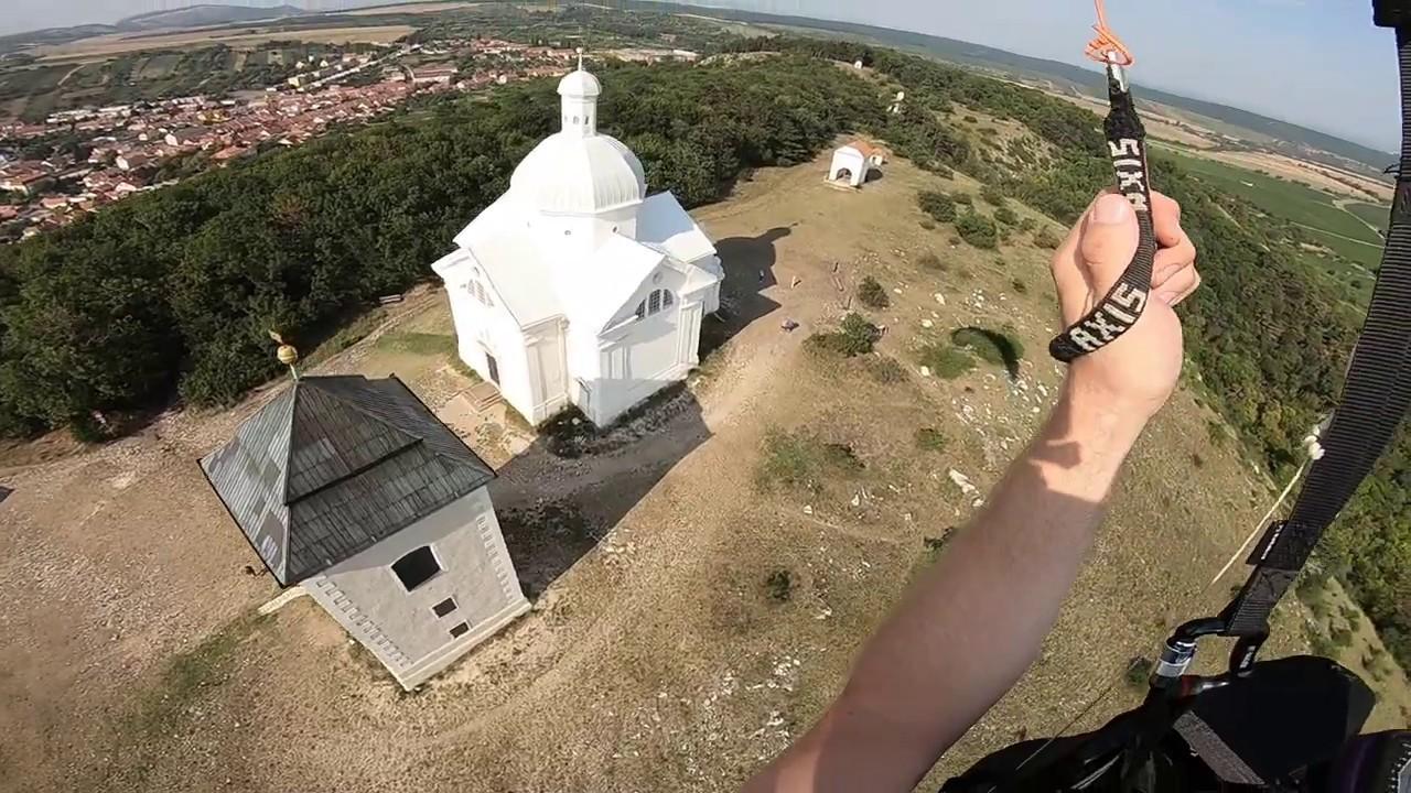 Paragliding Svatý kopeček Mikulov