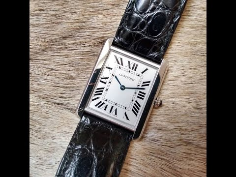 Cartier Tank Solo - Quick overview