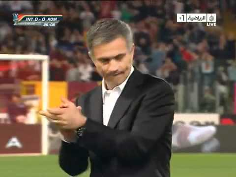Coppa Italia - Roma vs Inter 0-1, José Mourinho Show! (Aljazeera Sport)