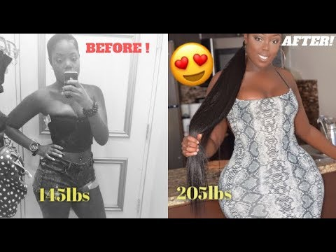 HOW TO GAIN WEIGHT FAST FOR SKINNY WOMEN - NO APETAMIN - GET THICK!(WITH PICTURES)