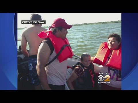 Daring Rescue In Great South Bay