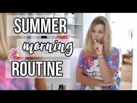SUMMER MORNING ROUTINE EN DOUCEUR ♡