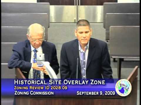 Zoning Commission - September 9, 2009